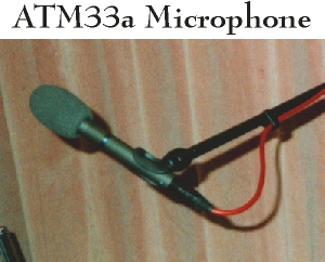 ATM33a Hand Held cardioid microphone