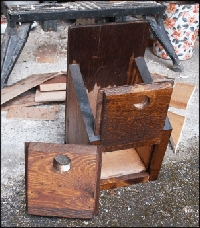 Nestbox with different fronts