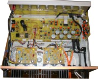 Internals of the Electronic Services Amplifier as supplied with all Quickly Built Kingdom halls (UK). **CLICK** for larger picture.