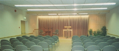 Church Loop Systems - In the UK, Public venues like this one **MUST** have a standards compliant Audio Frequency Induction Loop fitted - by law